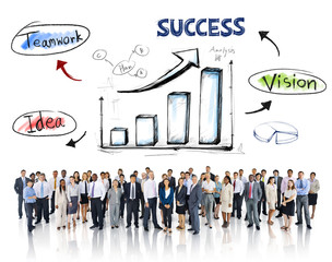 Business People and Success Concepts