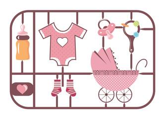 Baby Bausatz Mädchen