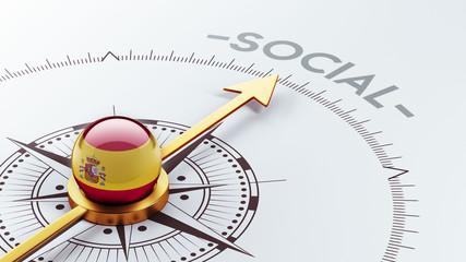 Spain Social Concept