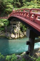 日光東照宮 新緑の神橋