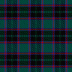 Green plaid tartan seamless pattern background