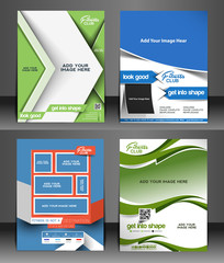 Fitness Center Flyer & Poster Template