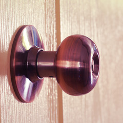 knob door old vintage retro style