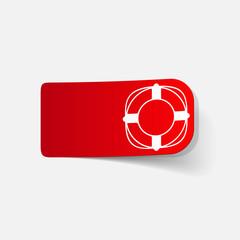 realistic design element: lifebuoy