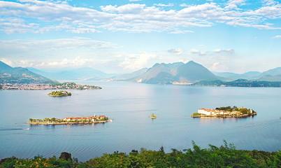 Les îles Borromées sur le Lac Majeur