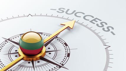 Lithuania Success Concept