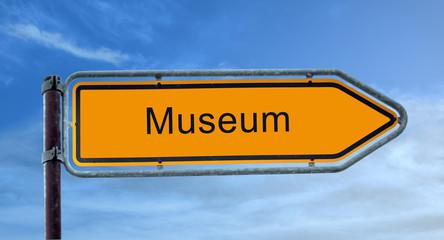 Strassenschild 8 - Museum