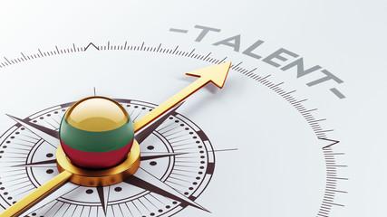Lithuania Talent Concept