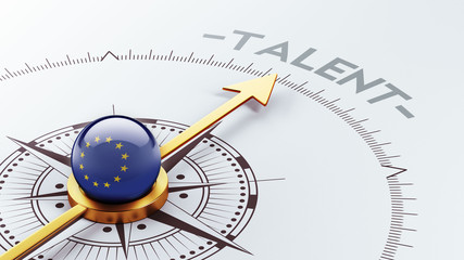 European Union Talent Concept