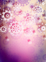 High definition snowflakes. EPS 10