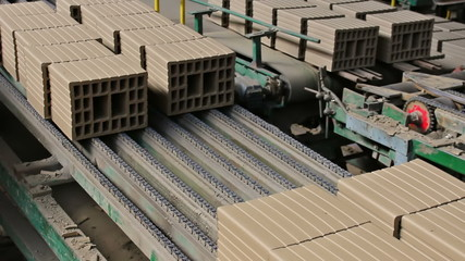Building blocks in the production line