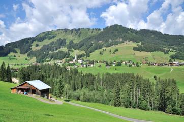 im Kleinwalsertal bei Hirschegg in Vorarlberg