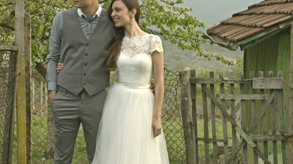 Newly Weds Happy Nature Green Living Farm House Country