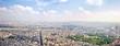 Panorama of city Paris