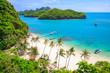 Leinwanddruck Bild - Angthong national marine park, koh Samui, Thailand
