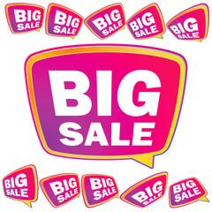 3D big Sale tags.  + EPS8