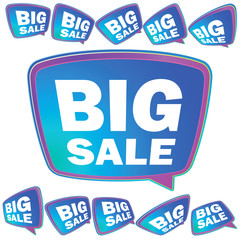 3D big Sale tags.  + EPS8