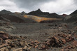 Volcanic landscape around Volcano Sierra Negra - 65715135
