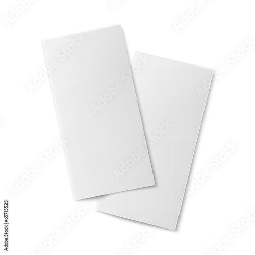 pair of blank bifold paper brochures buy photos ap images