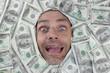 Happy dollar man