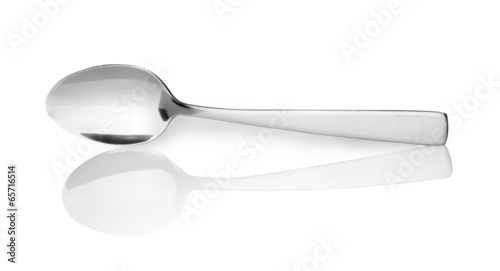 spoon isolated on white background