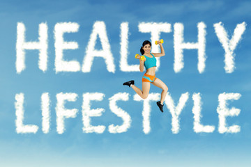 Healthy lifestyle concept 1