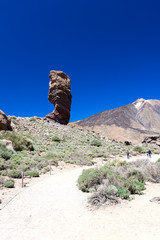 Teide National Park Roques de Garcia general