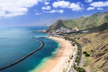 Las Teresitas Beach Tenerife Island Spain