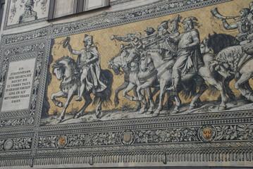 Dresden, Frauenkirche, Zwinger, Schloss, Ostdeutschland