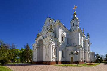 Assumption Cathedral in Poltava. Ukraine.