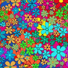 Fond fleuri