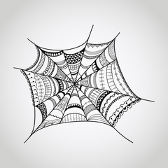 Vector spider-web