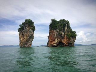 Thailand, island in the middle of Andaman sea