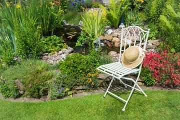 Schöner Platz im Garten