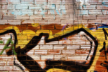 Abstract graffiti background