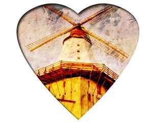 Weisses Herz - Mühle