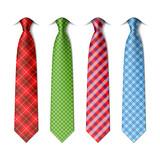Fototapety Plaid, checkered silk ties template