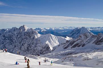 Berge_Alpen_Garmisch_Zugspitze_Wolken_1