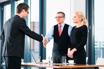 Business - Job Interview and hiring