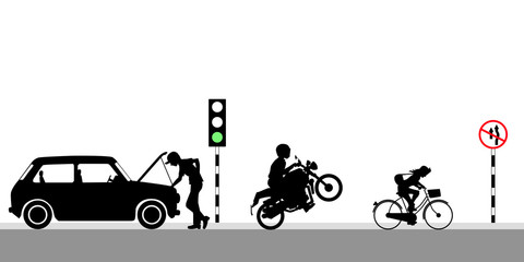 on Green light