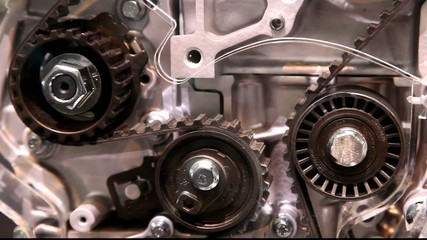 Timing belt of an modern car combustion engine