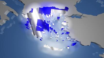 Greece Earth Zoom In