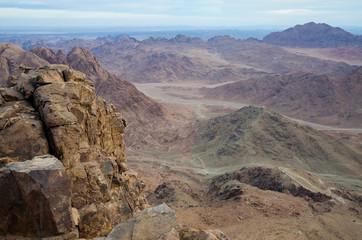 Mount Sinai in early morning