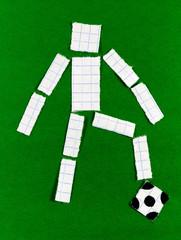 Man's figure