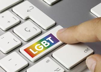 LGBT. Keyboard