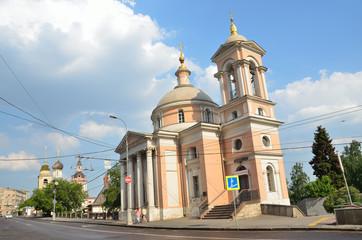 Москва, улица Варварка, церковь Великомученицы Варвары