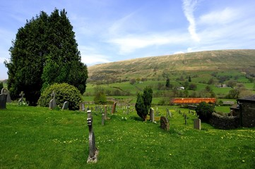 Cemetery in the Countryside