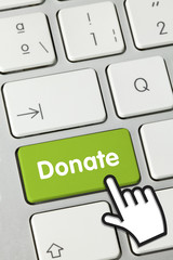 Donate. keyboard