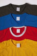Different t-shirts
