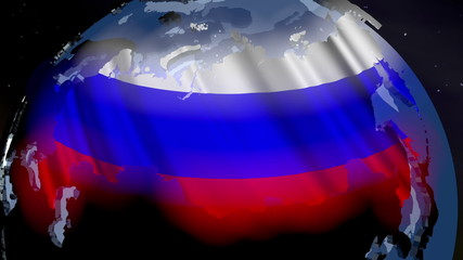 Russia Earth Zoom In